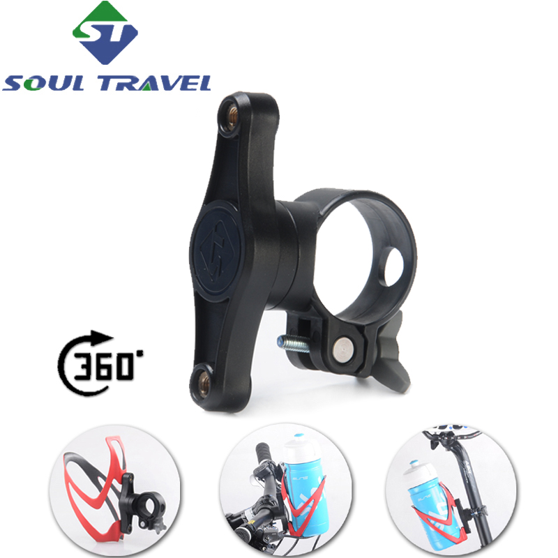 Bike Bicycle Cycling Handlebar Mount Water Bottle Cage Holder Rack Clamp LT