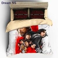 Dream NS Star Wars Duvet Cover Sets Movie Fans Boy Gift Bedlinens Cozy Home Textile Bedding