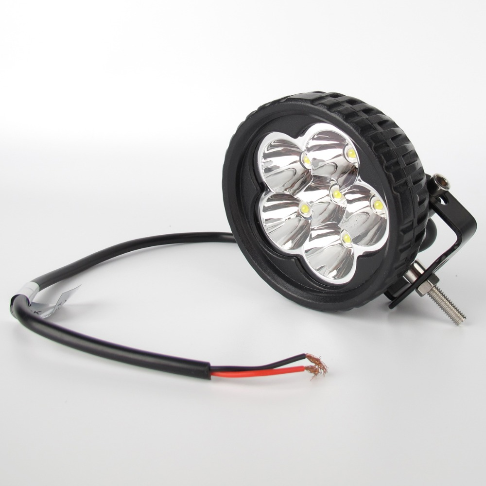 Image 4 - 2Pcs 3.5 Inch 18W Led Work Light 12V 24V For Car 4x4 Off road Truck Motorcycle Tractor ATV Trailer Waterproof Spot Work Lights-in Light Bar/Work Light from Automobiles & Motorcycles