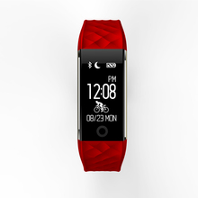 First Bicycle-riding Mode Smartband S2 Sport Health Wristband for IOS and Android Smart Bracelet with  Heart Rate and BP Tracker