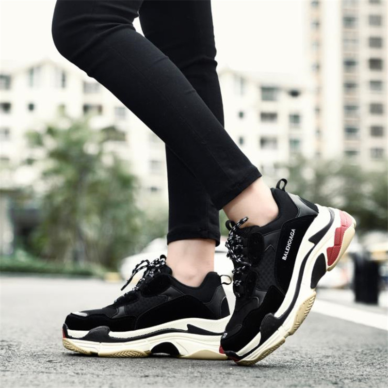 Size 35 46 2018 Women Men Sneakers Women Causal Shoes breathable Men Travel Shoes Sweetheart shoes