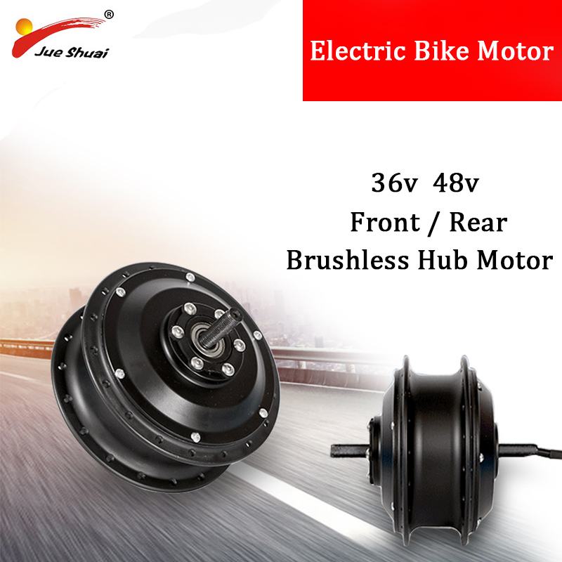 36V 48V 250W 350W 500W 1000W Electric Bike Conversion Kit Front And Rear Motor Wheel Brushless Hub Motor Electric Bicycle Kit