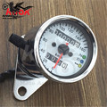 chrome motorcycle LED Backlight Motorcycle Tachometer Dirt Bike Scooter Tacho Gauges for Honda Yamaha Kawasaki suzuki universal