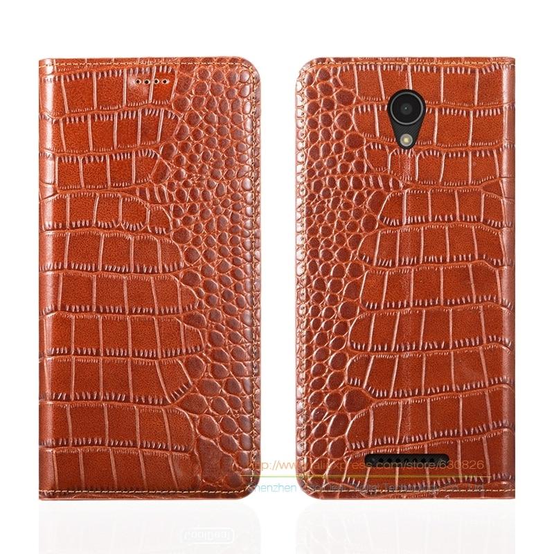 Крокодил зерна натуральная кожа чехол для <font><b>Lenovo</b></font> Vibe <font><b>B</b></font> (A2016) A1010 4.5 &#171;мобильного телефона крышки и невидимый магнит 1 слот для карт памяти