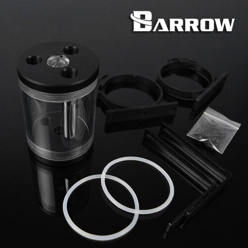Original Barrow 98/135/220/300MM 65MM Diameter Cylindrical  Transparent Water Tank Computer Case Reservoir YPH65-98 V2
