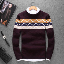 Man Sweater 2017 New Men's Casual Winter Knitting Warm High Quality Men Pullover Coat Outerwear Mens Sweaters And Pullovers