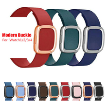 Modern style sport strap for apple watchband 40mm&Bracelet for apple watch 44mm Leather for iwatch band 42mm series 4 3 2 1 38mm ashei leather watch strap for apple watch band 38mm 42mm bracelet replacement watchband for iwatch series 3 series 2 1 sport
