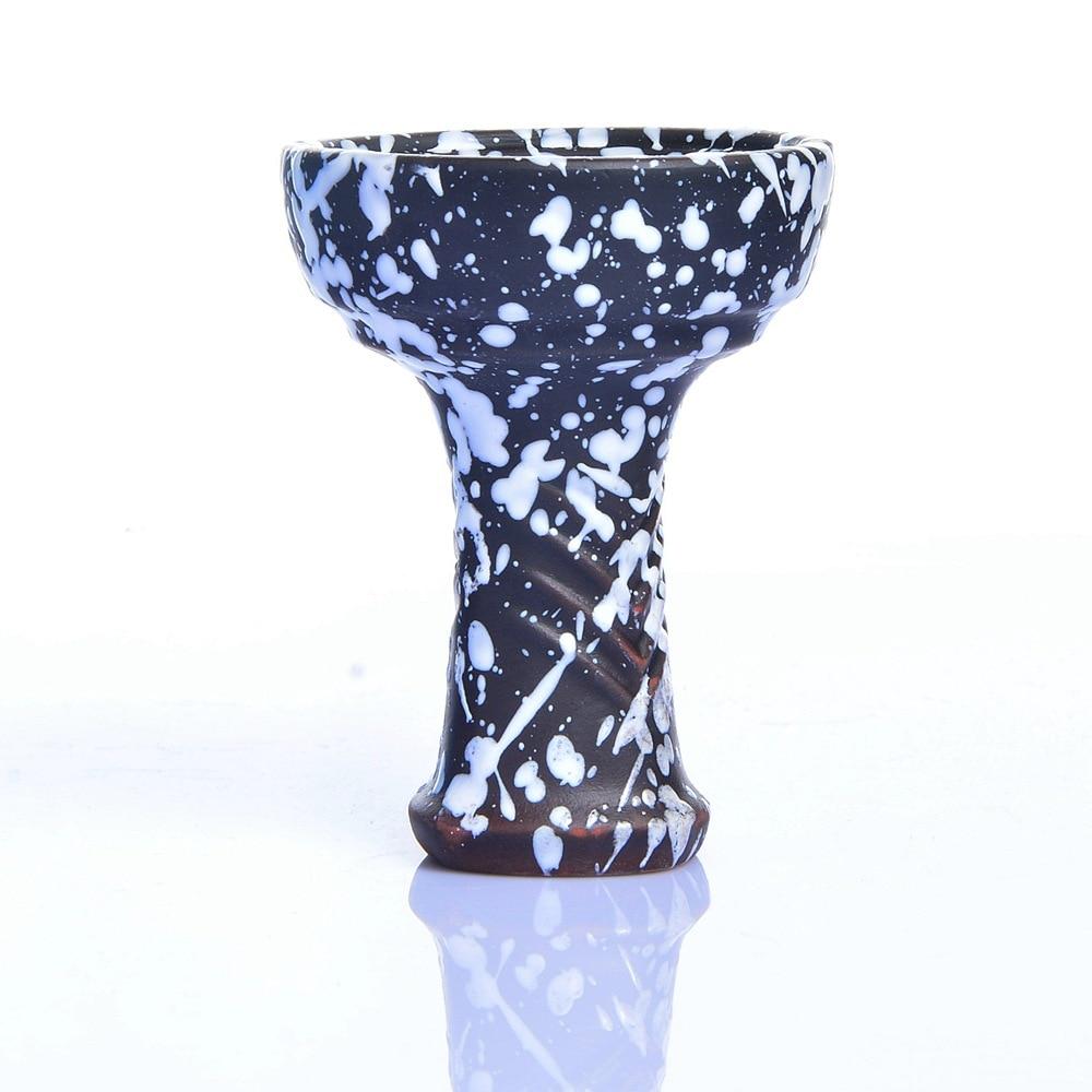 Hookah Ceramic Bowl Several Holes Phunnel Shisha Bowl Narguile Perfect Hookah Bowl for Lotus hookah shisha bowl in Shisha Pipes Accessories from Home Garden