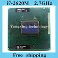 Core i7 2620 м 2.7 ГГц 4 м двойного восемь темы SR03F 2620 ноутбук процессоры ноутбук процессора PGA 988 контакт. гнездо G2