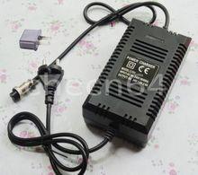 24 V 1.6A 1.8A de plomo ácido cargador de batería de 110 V 220 V eléctrica vespa de la bici
