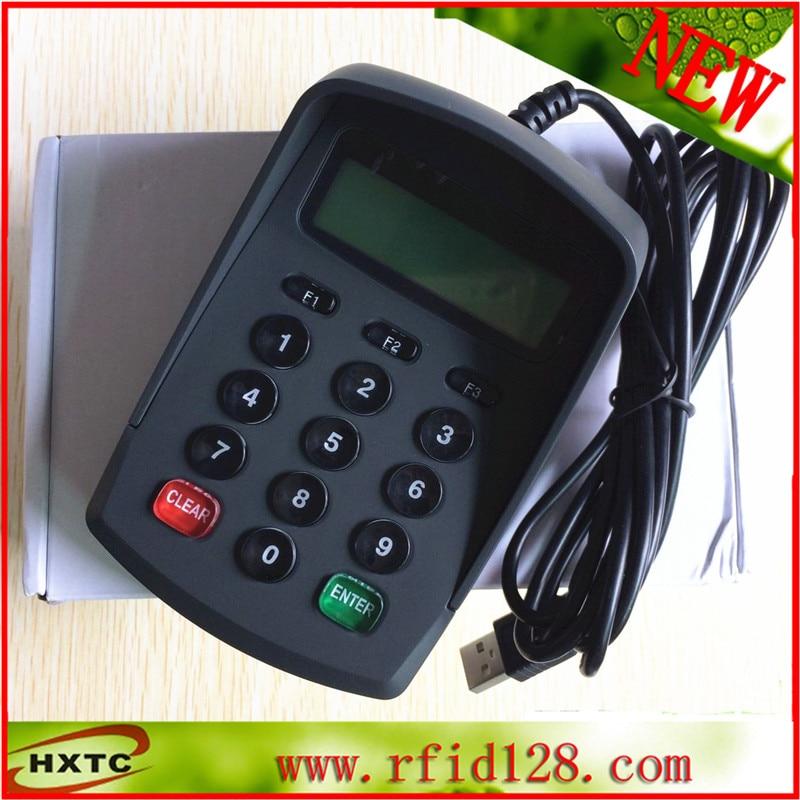 Plug and play POS Number password keyboard with LCD no drive plug and play usb pos pinpad digital password keyboard numeric keypad with lcd