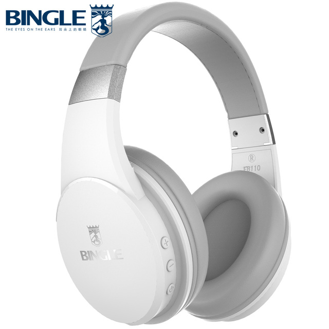 Bingle FB110 New Super Deep Bass 3D Stereo Overhead Gym Sports Running Noise Cancelling Wireless Bluetooth Headphones Headsets