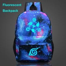 Fluorescent Luminous Naruto School Bag