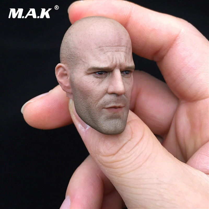 New Arrival Jason Statham Male Bald Head Sculpt Model Toys for 12 Inches Man Action Figure Body Collection hot 1 6 figure toys head sculpt 1 6 jason statham iron man tony head for 12 inch soldier action figure ht hottoys model toy
