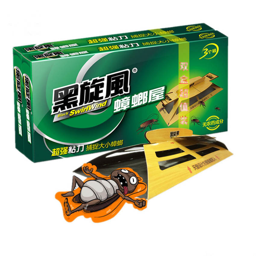 Eco- friendly Cockroach House Killer Cockroach Trap Repellent Killing Bait Strong Sticky Catcher Traps Insect Pest Repeller
