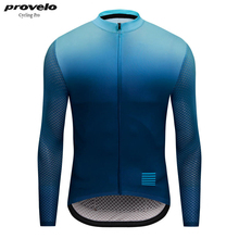 2019 Go Pro Long Sleeve Cycling Jersey Men MTB Bike Clothing Wear Spring Autumn Camisa Ciclismo Breathable Bicycle Clothes цена