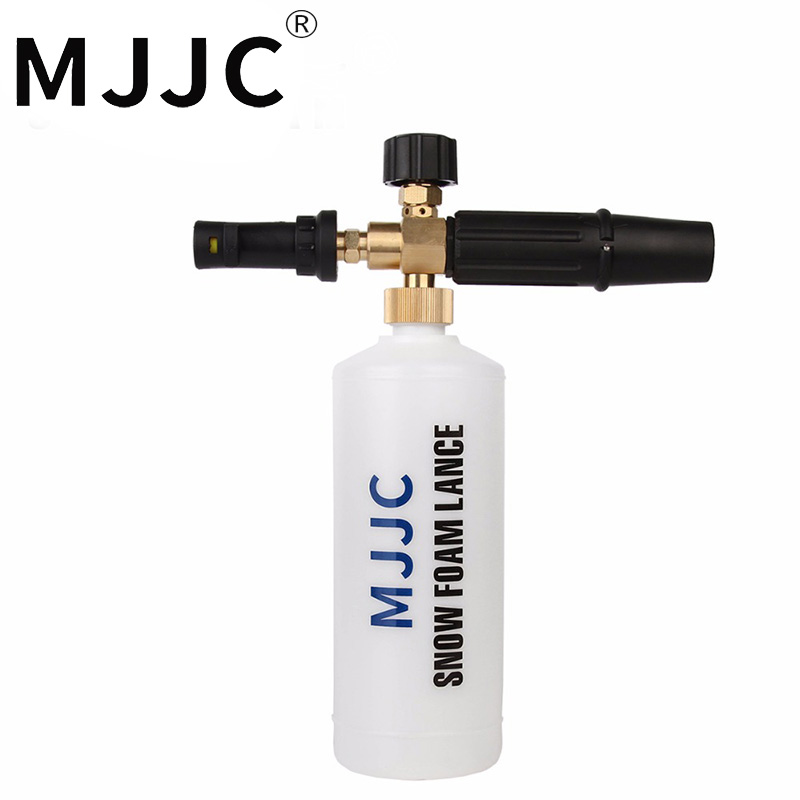 MJJC Brand foam lance 3 pieces bundle for karcher free shipping with High Quality Engineering Plastic Automobiles Accessory