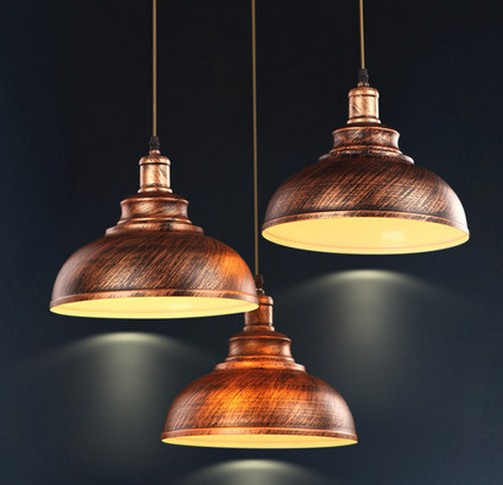Nordic Loft Style Iron Droplight Led Pendant Light Fixtures Vintage Lighting For Dining Room Antique Hanging Lamp In Lights From