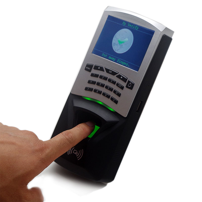 Slim and Elegant Design Fingerprint Standalone Access Control and Time Attendance 100,000 Transaction Capacity Wiegand Signal 1000 users tcp ip usb fingerprint door access controller standalone biometric fingerprint time attendance and access control