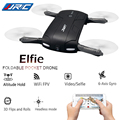 JJRC H37 Elfie Гироскопа WIFI FPV Складной Quadcopter Selfie Беспилотный Мини RC drone с Камерой HD Вертолет VS JJRC H36 и H31