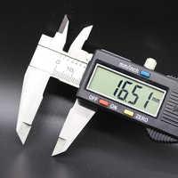 Measuring tool stainless steel digital caliper measuring range 0-150mm measuring speed 3m / s accuracy 0.01mm