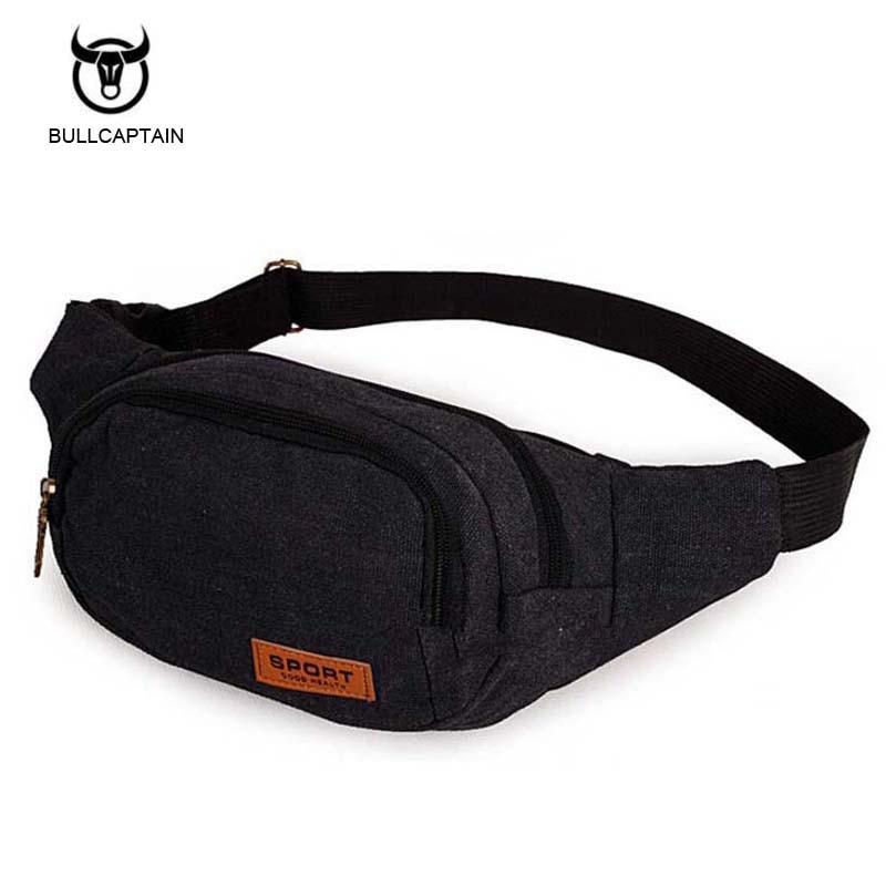 Bullcaptain 2017 Men Male Multifunctional Fashion Waist Bag Brand BeltBag Waist Packs Suit for 4 Colors Waist Bags For Men NB030