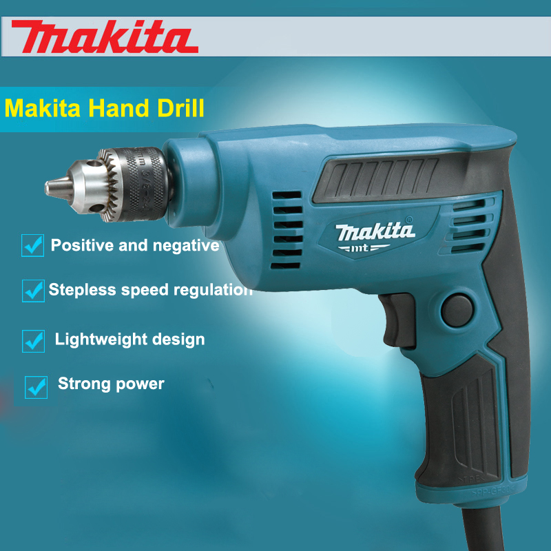 цена на New Japan Makita Electric Drill M6500B Hand High Speed Drill Multifunctional Power Tools  230W 4500 RPM With Drill Card Key