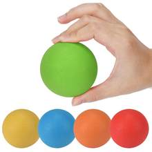 1PCS Hot Sale Rubber 6.5cm Massage Ball Tool Mobility Trigger Point Body Massager Arm Back Leg Muscle Pain Relief(China)