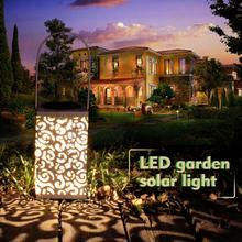 LED Solar Garden Light Waterproof IP44 Decoration Wind 8LM Night Lawn Lights