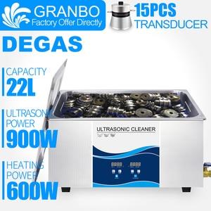 Image 1 - Цифровой ультразвуковой очиститель Granbo, 22 л, 900 Вт