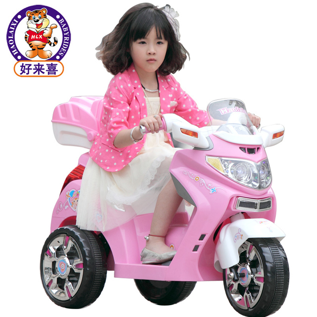 1128 Child Electric Bicycle Electric Motorcycle Tricycle Baby Car