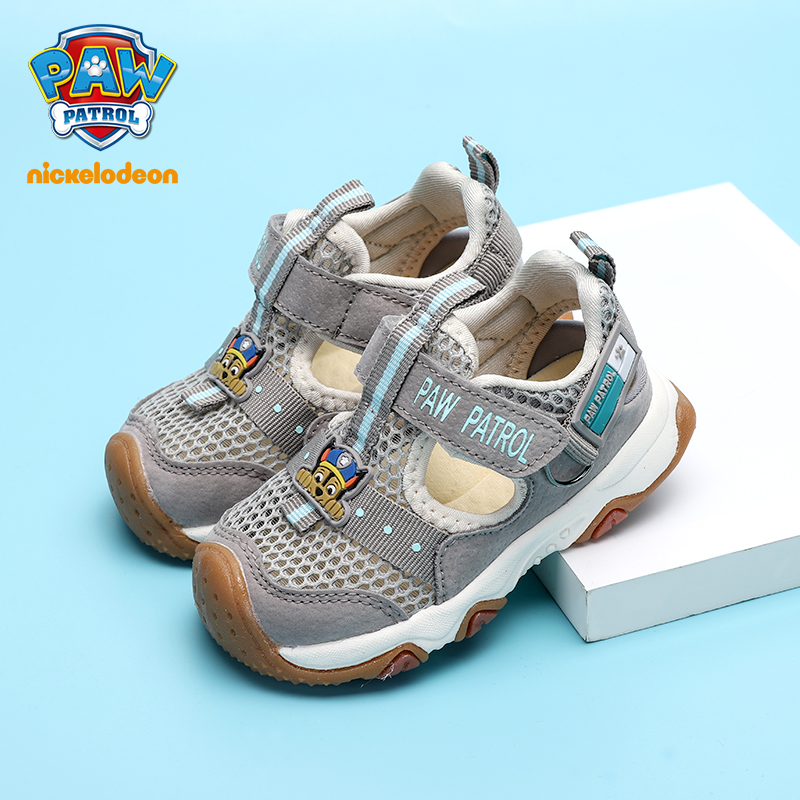 PAW PATROL Kids Shoes Girls Boys Sport Shoes Summer Breathable Comfortable Mesh Synthetic Shoes For Kids Size 21-26