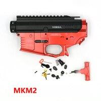 Freies Verschiffen Limited Edition MKM2 Wasserpistole Spielzeugpistole Kunststoff Fall Matte Rot Schwarz Spielzeugpistole Zubehör