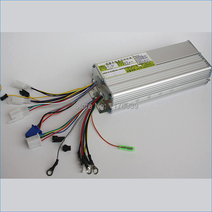 15 tube 60v 800w dual mode dc brushless motor speed for Dc motor controller for electric car