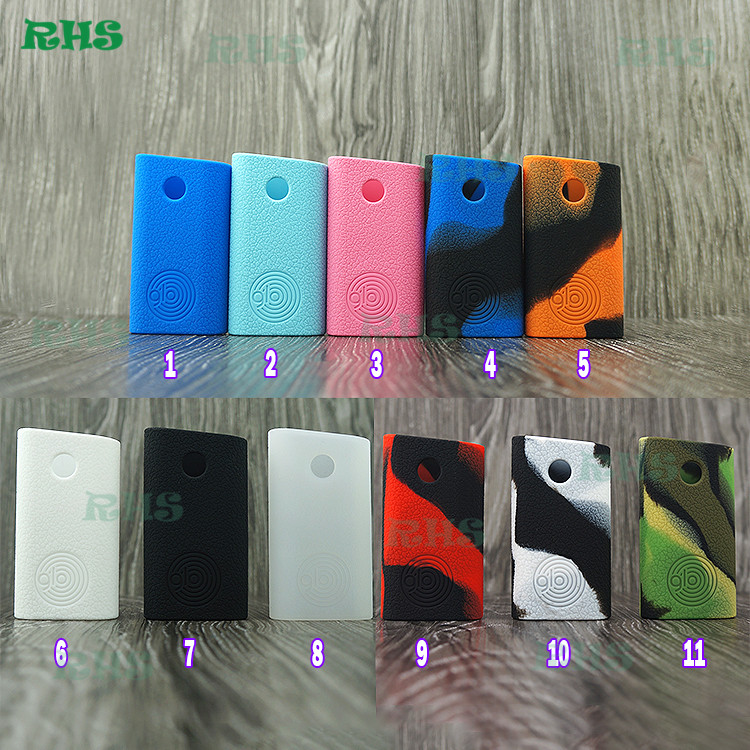 Aliexpress RHS authentic GLO 230W kit temp control silicone case skin cover sleeve in large stock for sale free shipping