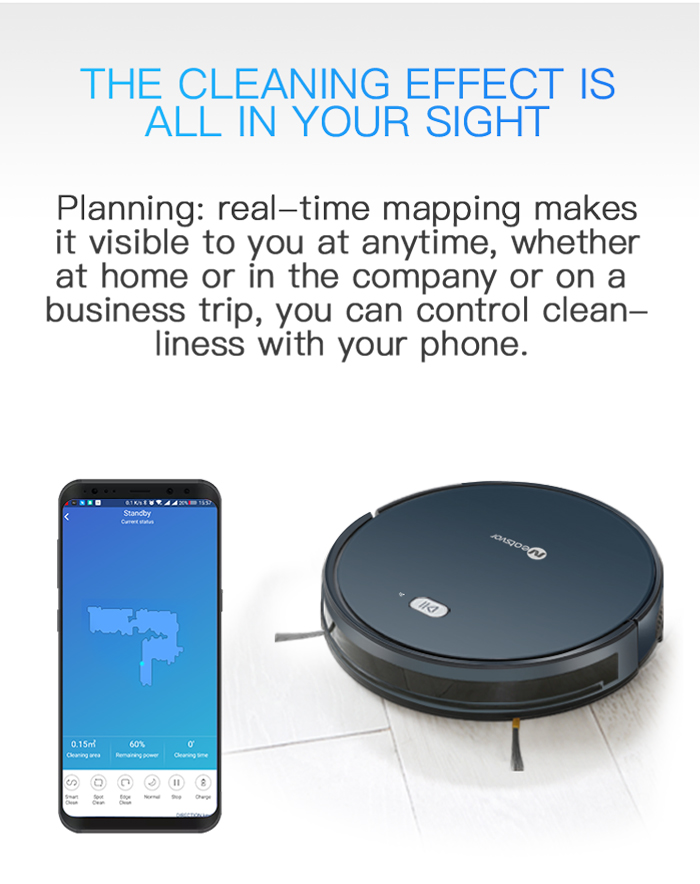 HTB17nJHKFzqK1RjSZFoq6zfcXXav NEATSVOR X500 1800PA Robot Vacuum Cleaner,3in1 Wet Dry Mop,WIFI Map Navigation,Smart Memory,Anti Collision,Robot Aspirador