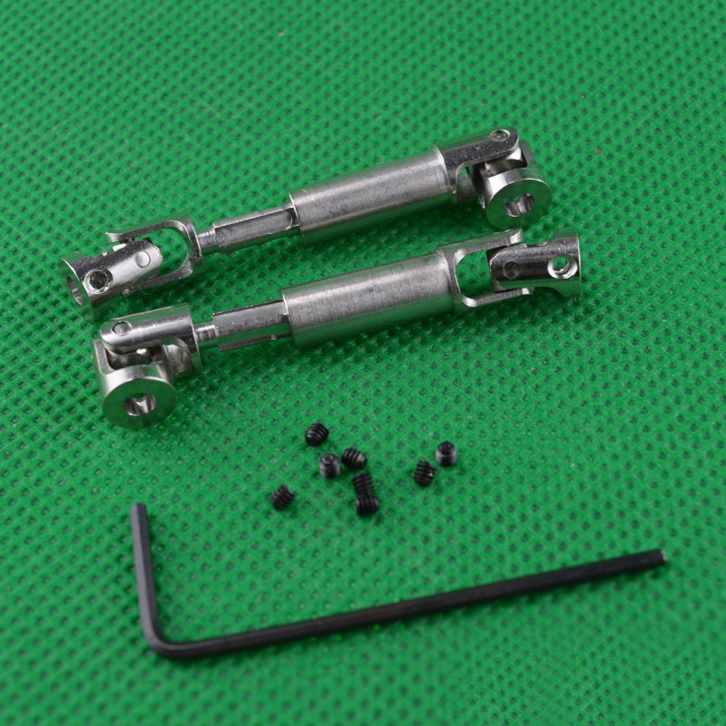 1Pair <font><b>HBX</b></font> 1/24 Mini Crawler Cars <font><b>2098B</b></font> Metal Transmission Shaft Drive Spare <font><b>Parts</b></font> Upgraded Version image