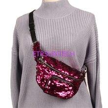 50pcs lot Women Sequins Makeup Bag Mermaid Wallet Purses Female Messenger  Bags Travel Storage Bag Gilrls Waist Bag 84c1517a72a1