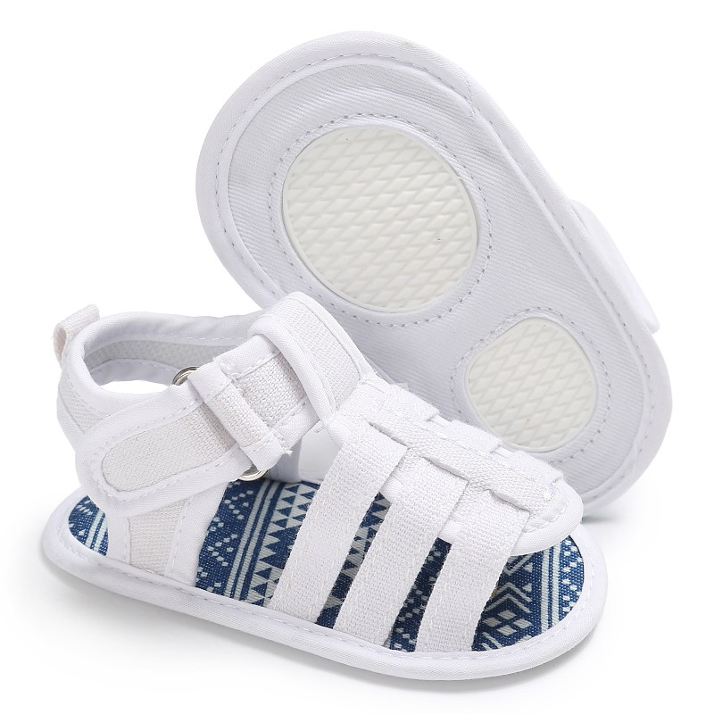 Baby Casual Shoes Soft Sandals Baby Toe Cap Covering Sandals