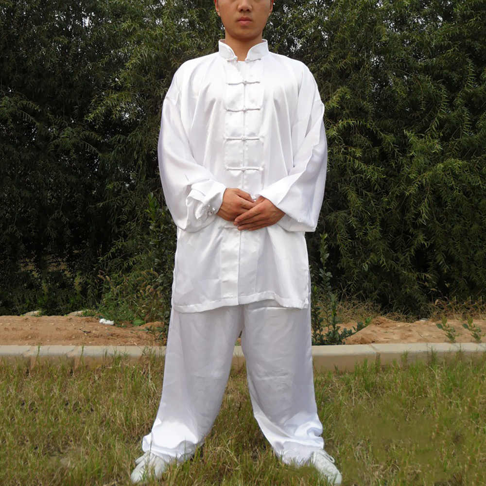 Tai Chi Uniformen Kung Fu Kleding Voor TaiJi Soild Kleur Comfortabele