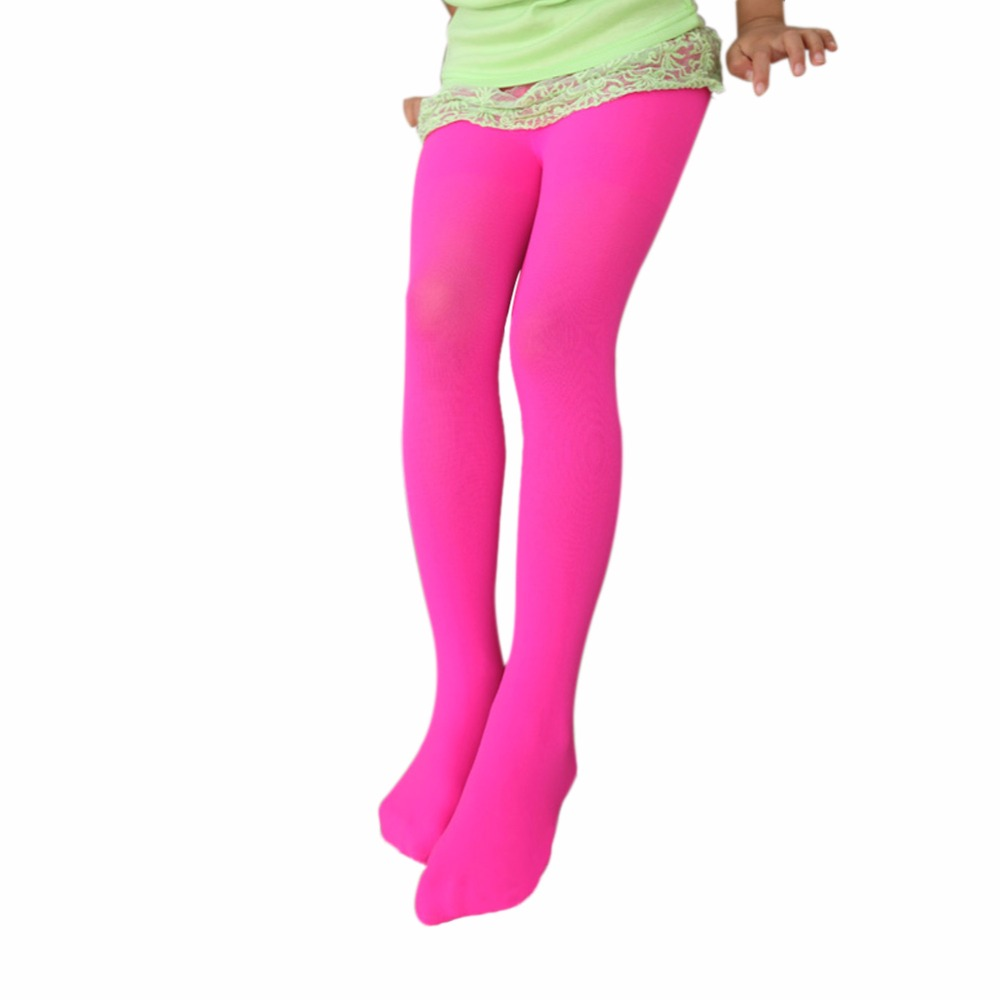Kids Baby Girls Velvet Leggings Trousers Candy Color Underpants Pantyhose 5-12T