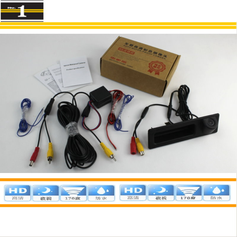 BMW X3 F25 Back up Camera Kit with Dynamic Guidelines
