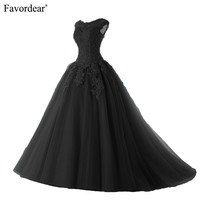 Favordear 2019 Quinceanera Beading Sweet 16 Dress Vestidos De 15 Anos Cap Sleeve Black Burgundy Quinceanera Gowns Party Dress