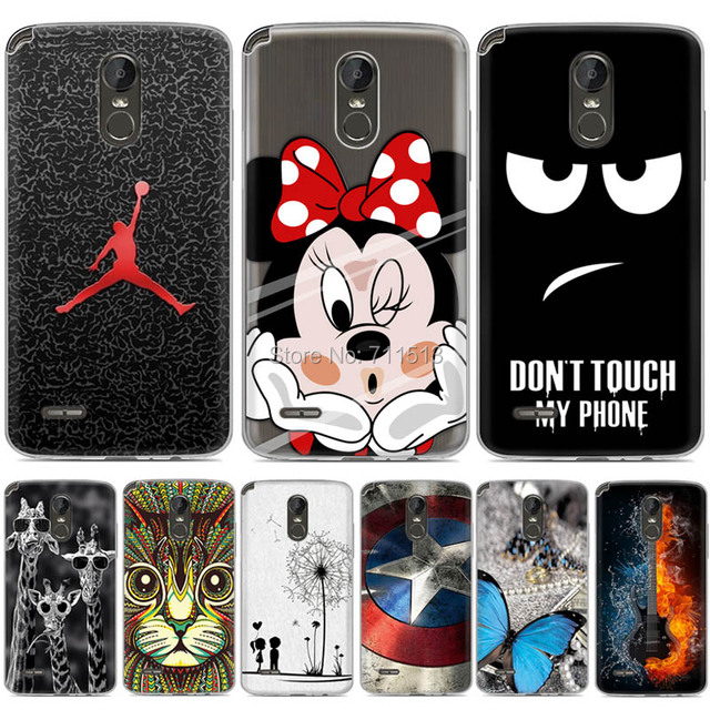 quality design 0173b f6884 US $1.99 20% OFF|New Arrival Silicone cover for LG Stylus 3 case tpu soft  gel cartoon painted phone case for LG Stylus 3 cover for LG Stylo 3 5.7-in  ...