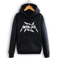 Death Metal Hoodies Fleece Rock Band Mens Hooded Sweatshirts New Fashion Plus Size Free Shipping S