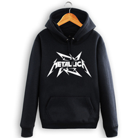 Death Metal Hoodies Fleece Rock Band Mens Hooded Sweatshirts New Fashion Plus Size Free Shipping S