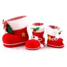 Süßigkeiten Schuhe Weihnachten Santa Clauswords wandaufkleber wohnkultur shop shop Chirstmas partei fenster aufkleber dekoration