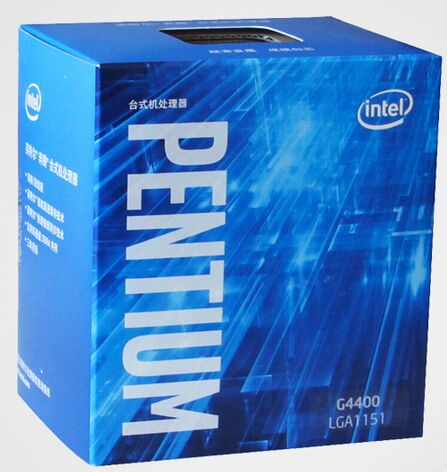Intel Pentium Processor G4400 Chinese boxed LGA1151 14 nanometers Dual Core 100% working properly Desktop Processor