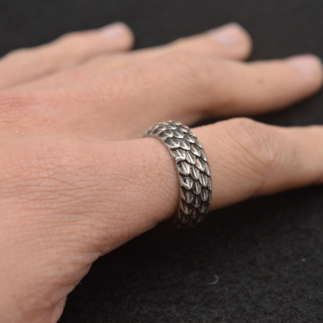 Vikings Dragonscale Ring