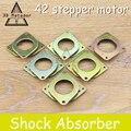 Горячая продажа! 5 шт./лот Nema 17 шаговый двигатель Демпфер амортизатор для 42 шагового двигателя, бесплатная доставка